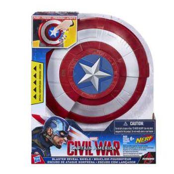 Captain America Blaster Reveal Shield