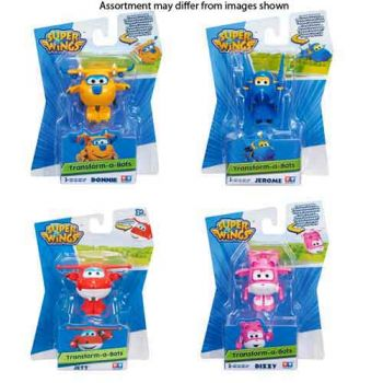 Super Wings Transform A Bots assorted