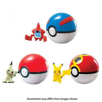 Pokemon Clip n Carry Poke Ball assorted