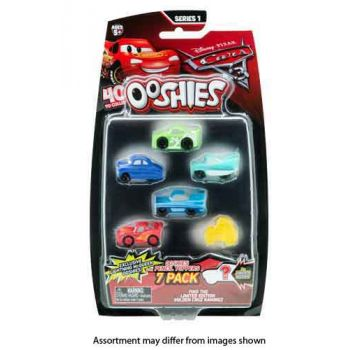 Ooshies Disney Cars 3 7pk assorted