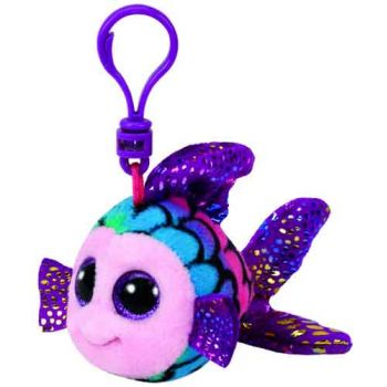 Ty Beanie Boos Clips - Flippy Multi Fish
