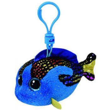 Ty Beanie Boos Clips - Aqua Blue Fish