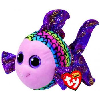Ty Beanie Boos Medium - Flippy Multi Fish