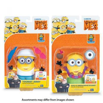 Despicable 3 Deluxe Action Figures assorted