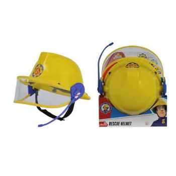 Fireman Sam 23cm Helmet with Mic