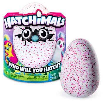 Hatchimals Pengualas Pink Egg V2