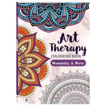Adult Art Therapy Colouring Book - Mandala