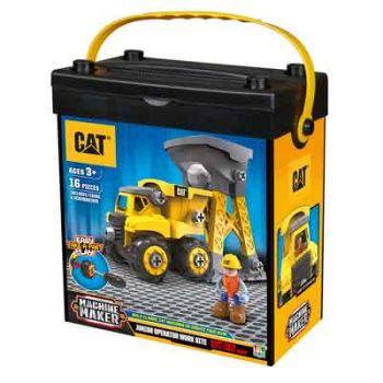 CAT Construction Junior Work Site Dump & Loader