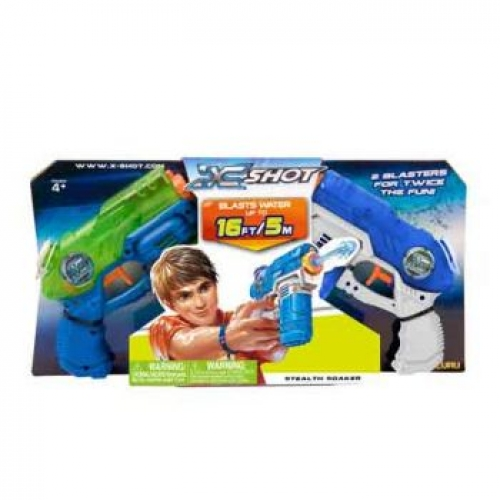 XSHOT Water Blaster - Stealth Soaker Twin Pack
