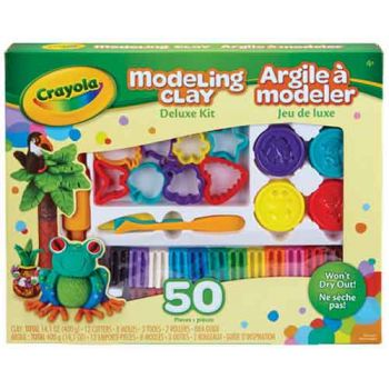 Crayola Modelling Clay Deluxe Kit