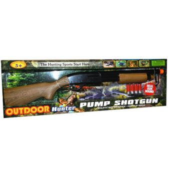 Electronic Pump Action Shotgun