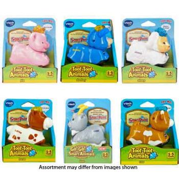 VTech Toot-Toot Animals Farm Animals assorted ( can be sold in display of 12 )