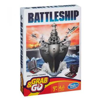 Grab n Go Travel Game - Battelship
