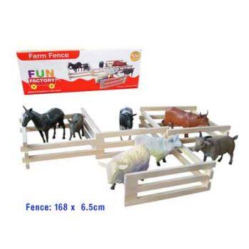 Fun Factory Wooden Farm Fence