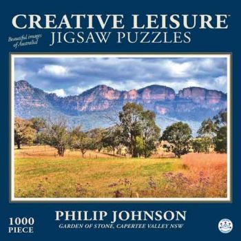 Creative Leisure 1000pce Puzzle - Garden of Stone Capetree Valley NSW