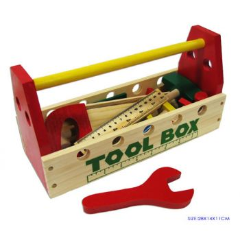 Fun Factory Wooden Tool Box with Tools