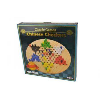 Shuffle Classic Wooden Chinese Checkers
