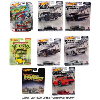 Hot Wheels Retro Entertainment Assorted ( ONLY SOLD in Carton of 10 )