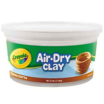 Crayola 1.13kg Air Dry Clay - Terracotta