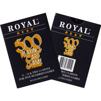 Royal 500 Playing Card Game