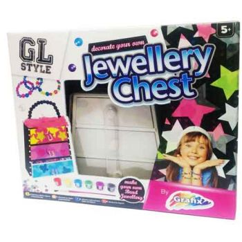 Decorate your own Jewellery Chest