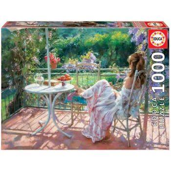 Educa 1000pce Puzzle - Among Wisterias