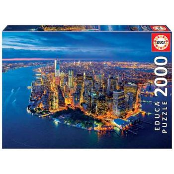 Educa 2000pce Puzzle - New York Aerial View