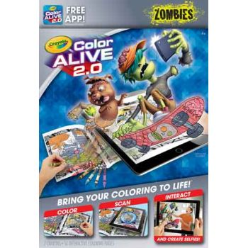 Crayola Color Alive 2.0 - Zombies