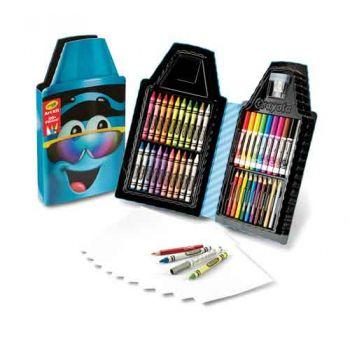 Crayola Tip Art Case - Turquoise Blue