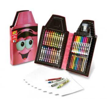Crayola Tip Art Case - Tickle Me Pink