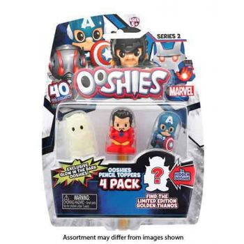Ooshies Marvel Series 2 4pk assorted