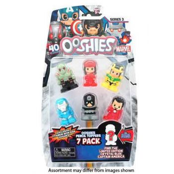 Ooshies Marvel Series 2 7pk assorted