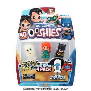 Ooshies DC Series 2 4pk assorted