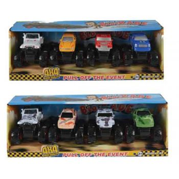 Monster Trucks 4pk
