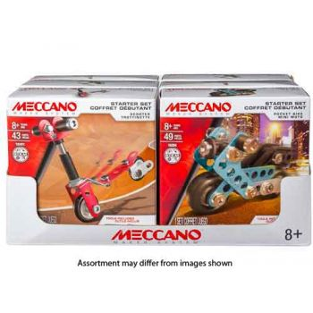 Meccano Multi-Model Starter Set Assorted ( ONLY SOLD in display of 6 )