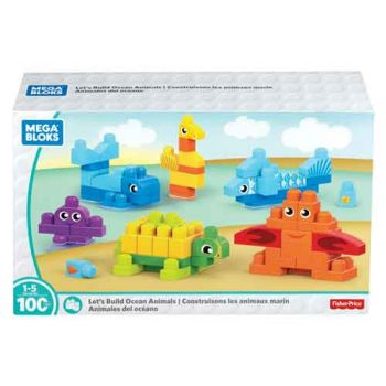 Mega Bloks Build Ocean Friends