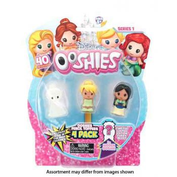 Ooshies Disney Princess 4pk assorted