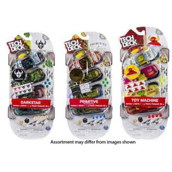 Tech Deck 4 Pack Multipack assorted