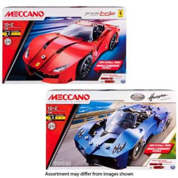 Meccano Engineering Licensed Vehicle Assorted