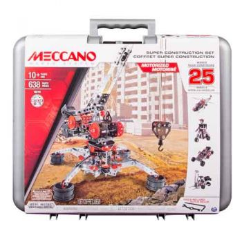Meccano Super Construction Set in case