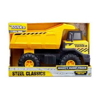 Tonka Steel Classic Mighty Dump Truck ( ONLY SOLD in Carton of 2 )