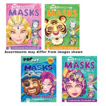 Pop-Out Mask Books assorted