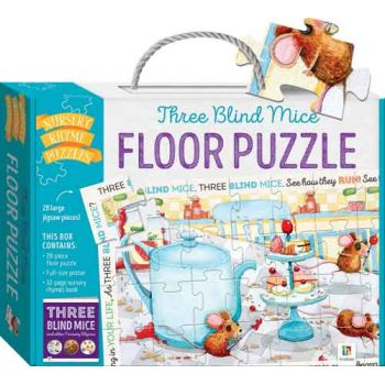 Three Blind Mice Floor Puzzle
