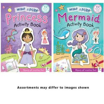 Make & Play Activity Books assorted