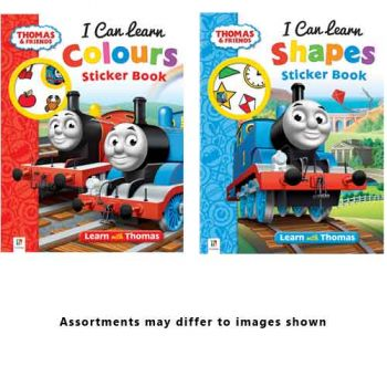 Thomas & Friends Early Learning Sticker Books assorted