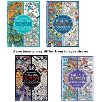Adult Copycat Colouring Books assorted