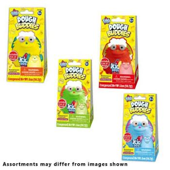 Kiddy Dough - Dough Buddies ( ONLY SOLD in display of 12 )