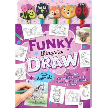 5 Pencil Sets - Funky Things to Draw