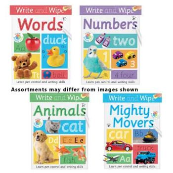 Write & Wipe Books assorted