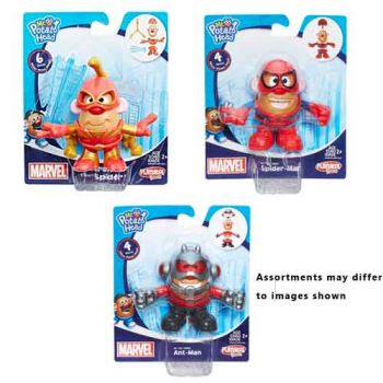 Mr Potato Head Marvel Mixable Mashable Heroes assorted
